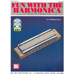 Bay, William: Fun with the Harmonica (+CD, +DVD-Video)