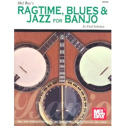 Ragtime, Blues and Jazz : for banjo