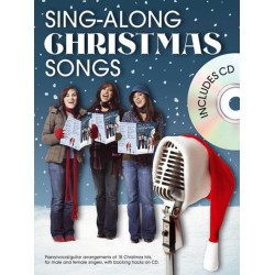 Sing-Along Christmas Songs (+CD) : songbook piano/vocal/guitar