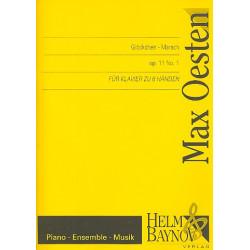 Oesten, Max: Gl├Âckchen-Marsch op.11,1 : f├╝r Klavier zu 6 H├ñnden