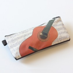 Stift-Etui Gitarre 20x10 cm