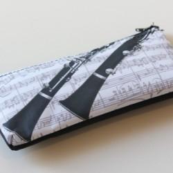 Stift-Etui Klarinette 20x10 cm