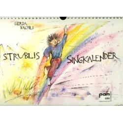 Bächli, Gerda: Strublis Singkalender Monatskalender Ringbindung