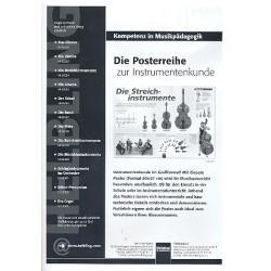 Die Streichinstrumente : Instrumenten - Poster