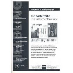 Poster Die Orgel gefaltet