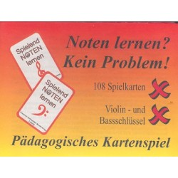 Noten lernen kein Problem : Pädagogisches Kartenspiel