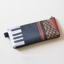 Stift-Etui Klavier 20x10 cm
