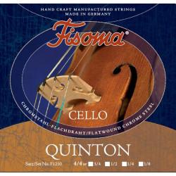 Fisoma Quinton Cellosaite A 1/4 (Chrom) - mittel
