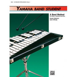 Feldstein, Sandy: Yamaha Band Student vol.1 : for concert band keyboard / percussion