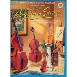 Frost, Robert S.: Introduction to Artistry in Strings (+CD) : score