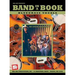 Kaufman, Steve: Band in a Book (+CD) : Bluegrass Vocals