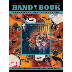 Kaufman, Steve: Band in a Book (+CD) : Bluegrass Instrumentals