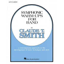 Smith, Claude: Symphonic Warm Ups: for band alto clarinet