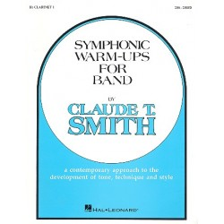 Smith, Claude: Symphonic Warm Ups : for band clarinet 1