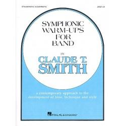 Smith, Claude: Symphonic Warm Ups : for band baritone saxophone