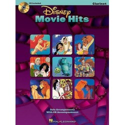Disney Movie Hits (+ audio access) : clarinet solo arrangements for clarinet solo