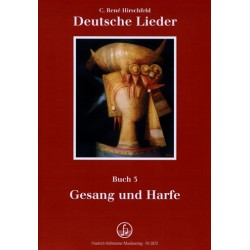 Hirschfeld, Casper René: Deutsche Lieder Band 3 für Gesang und Harfe, z.T. für 4 Stimmen a cappella Partitur