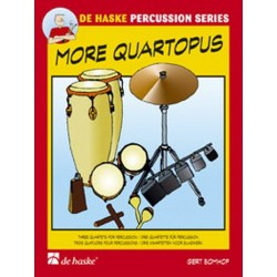 Bomhof, Gert: More Quartopus : for percussion Score and Parts