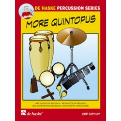 Bomhof, Gert: More Quintopus : for percussion Score and Parts
