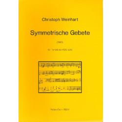 Weinhart, Christoph: Symmetrische Gebete : f├╝r Tenorblockfl├Âte solo