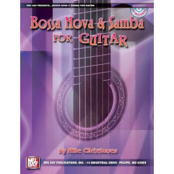 Christiansen, Mike: Bossa Nova and Samba (+CD) : for guitar