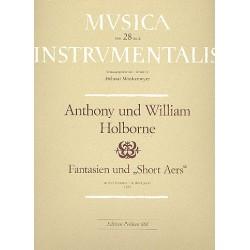 Holborne, Anthony: Fantasien und Short Aers : für Soprano, Alt und Tenor (Alt)