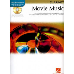 Movie Music (+CD) : for clarinet