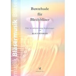 Buxtehude, Dieterich: Buxtehude : für 3-7 Blechbläser (Ensemble) Partitur