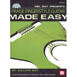 Praise Fingerstyle Guitar made easy (+CD) : for guitar/tab (with texts)