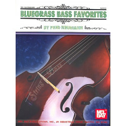 Bluegrass Bass Favorites : for double bass