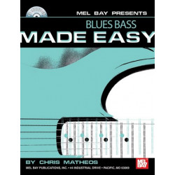 Matheos, Chris: Blues Bass made easy (+CD): for bass/tab