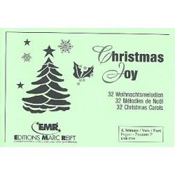 Christmas Joy : 32 Weihnachtsmelodien f├╝r Blasorchester 4. Stimme (Fagott / Posaune im Bassschl├╝ssel)