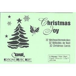 Christmas Joy : 32 Weihnachtsmelodien f├╝r Blasorchester 5. Stimme (Fagott / Posaune / Tuba im Bassschl├╝ssel)