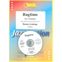 Armitage, Dennis: Ragtime (+CD) : f├╝r Trompete (und Klavier)