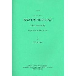 Gammie, Ian: Bratschentanz : für 4-5 Violas (Gitarre und Bass ad lib) Partitur und Stimmen