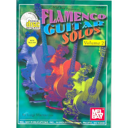 Marraccini, Luigi: Flamenco Guitar Solos vol.2 (+CD) : for guitar/tab