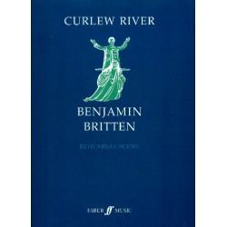 Britten, Benjamin: Curlew River op.71 vocal score (dt/en)
