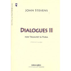 Stevens, John: Dialogues no.2 : for trumpet and tuba 2 scores