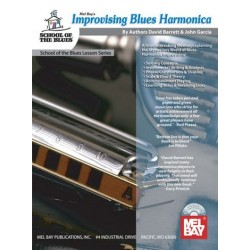 Barrett, David: Improvising Blues Harmonica (+CD)