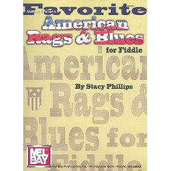 Favorite American Rags & Blues : for fiddle