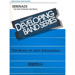 Edmondson, John: Serenade : for clarinet and band score and parts