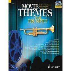 Movie Themes (+CD) : für Trompete (Klavierbegleitung als PDF zum Ausdrucken)