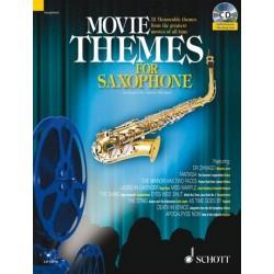 Movie Themes (+CD) : f├╝r Tenorsaxophon (Klavierbegleitung als PDF zum Ausdrucken)
