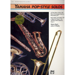 Yamaha Pop-Style Solos vol.1 (+CD) : for flute/oboe/keyboard/percussion