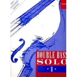 Double Bass solo vol.1 : 50 melodies