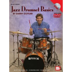 Gottlieb, Danny: Jazz Drumset Basics Chart (+DVD-Video)