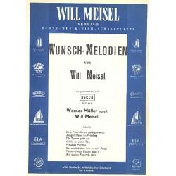 Meisel, Will: Wunschmelodien : f├╝r Gesang und Klavier