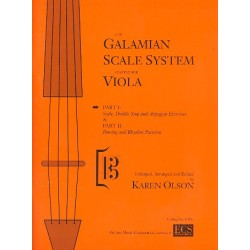 Galamian, Ivan: The Galamian scale system complete : for viola