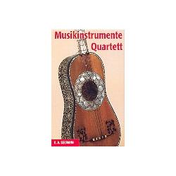 Musikinstrumente Quartett-Spiel mit 32 Karten