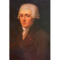 Joseph Haydn Postkarte Ölgemälde von Johann Carl Rösler 1799